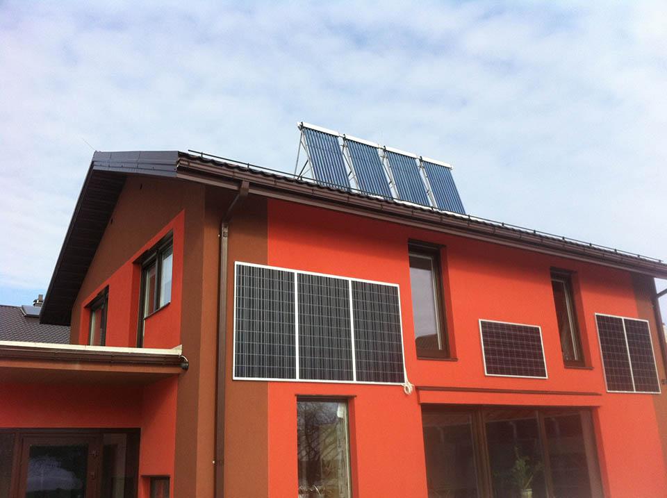 saules kolektoriu irengimas
